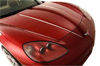 C6 Corvette 2005-2013 Hood Stripes Decal