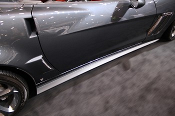 C6 Corvette 2005-2013 ZR1 Rockers Side Skirts