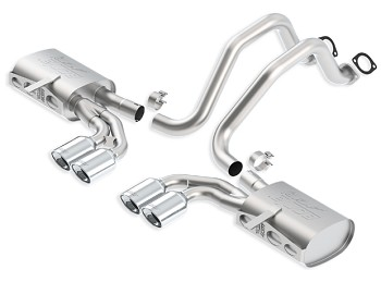 C5 Corvette 1997-2004 Borla Cat-Back Exhaust System - ATAK