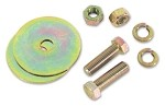 C3 C4 Corvette 1968-1996 Seat Belt Bolt Kit - Gold or Silver Finish
