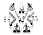 C6 Corvette 2005 - 2013  MagnaFlow Street Series Cat Back Exhaust System