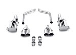 C6 Corvette 2005 - 2008  MagnaFlow Street Series Axle Back Exhaust System