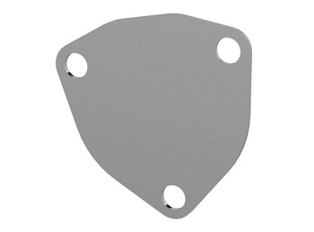 Bolt-On QTP Exhaust Cutout 3 Bolt Cover Plate - Size Options