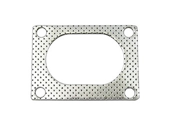 Bolt-On QTEC Low Profile 4 Bolt Oval Exhaust Gasket