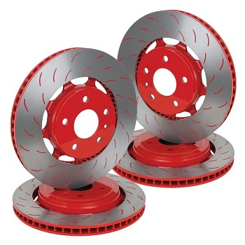 C7 Corvette Stingray 2014+ Z51 Powder Coated Rotors - Set of 4