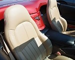 C5 Corvette Seat Covers - Leather Like