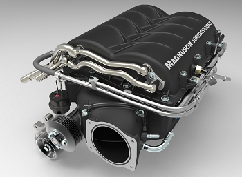 C6 Corvette Z06 2008-2013 Magnuson Superchargers TVS2300 Heartbeat - LS1 7.0L Supercharger Kit