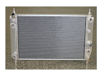 C6 Corvette Z06 / Z51 / Base 2005-2013 DeWitts Direct Fit Dual Row Aluminum Radiator w/ Shorter Core for Blower Clearance