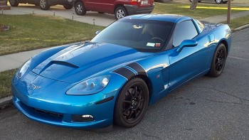C6 Corvette 2005 2013 Two Tone Grand Sport Styled Fender