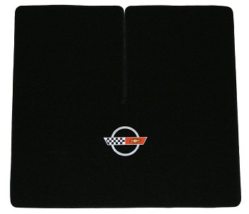 C4 Corvette 1984-1990 Lloyds Classic Loop Small Cargo Area Mats - Mat Color & Embroidered Logo Selection