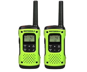 Motorola T600 H20 Talkabout Two-Way Radio - 2 pack