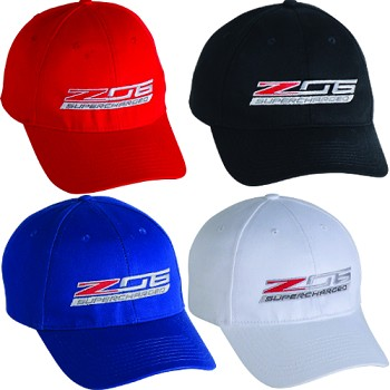 C7 Corvette 2015+ Z06 Supercharged Cap - 4 Color Options