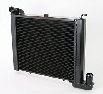 C3 Corvette 1969-1982 DeWitts Direct Fit HP Series Big Block 2 Row Radiator & Fan Combo - 1.25 Inch Tube - Multiple Options