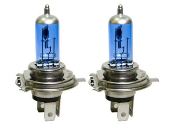 C4 Corvette 1984-1996 Super White Halogen Headlight Bulbs - 100/90 Watt