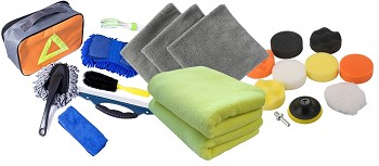 Detailing Kits for Wash, Wax, Drying and Detailing - Drying Towels & Blades, Applicators & Attachments & Much More