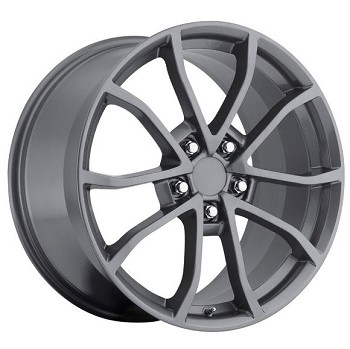C6 Corvette 2006-2013 427 Centennial Special Edition Cup Wheels 2013 Style Set 18X8.5 / 19X10 - Finish Selection
