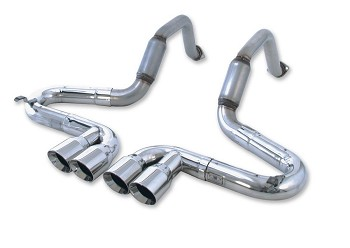 C5 Corvette Exhaust 1997-2004 Billy Boat Performance Bullet Quad Tip
