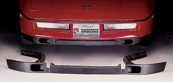 C4 Corvette 1984-1996 Front Spoiler with Brake Cooling Ducts
