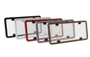 Corvette C5 C6 97-13 Custom Painted License Plate Frames