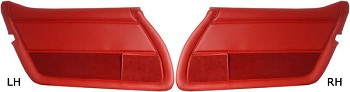 C3 Corvette 1978-1982 Leather Door Panel - Pair