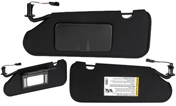 C6 Corvette 2005-2013 GM Sunvisors w/ Opener Options