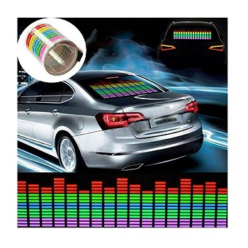 LED Music Rhythm Car Sticker