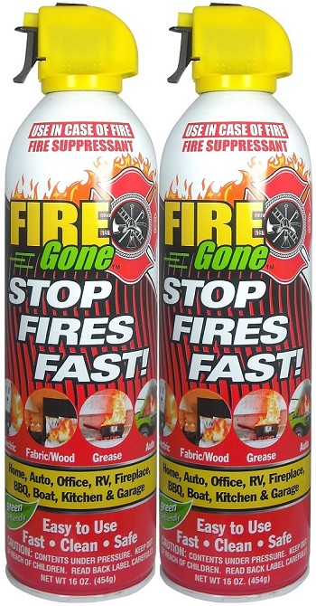 Fire Gone Extinguisher - 16oz