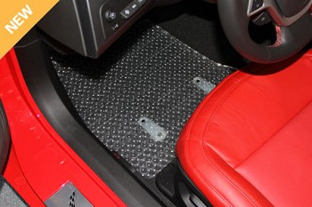 C7 Corvette 2014+ Stingray/Z06/Grand Sport Lloyd Rubbertite Fitted Floor Mat Protectors