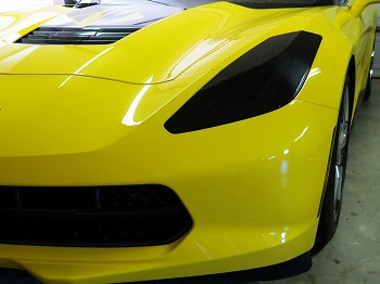 C7 Corvette Stingray/Z06/Grand Sport 2014+ Headlight Protection Overlays Lamin-X