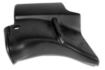 1998-2004 C5 Corvette Decklid Lock Pillar Trim Panel Upper