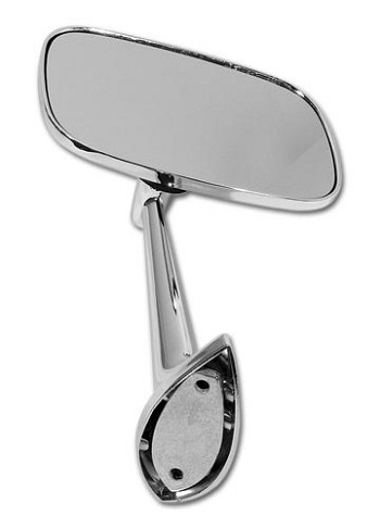 C3 Corvette 1968-1979 Outside Mirror w/ Mounting Kit