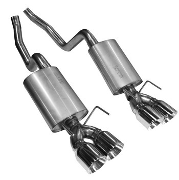 C6 Corvette Z06/ZR1 2006-2013 LS7 Kooks Axle Back Exhaust - OEM x 3 Inch