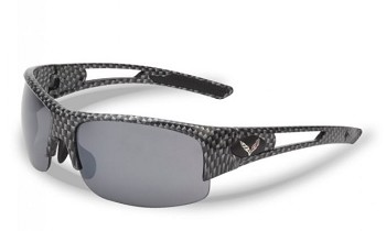 C7 Corvette 2014+ Carbon Fiber Pattern Rimless Sunglasses