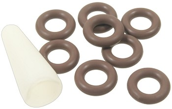 C5 Corvette 1997-2003 Fuel Injector Fuel Feed & Return Pipe O-Ring Seal Kit - AC Delco