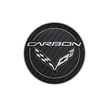 C7 Corvette Stingray/Z06/Grand Sport 2014-2019 GM Center Cap - Carbon Logo
