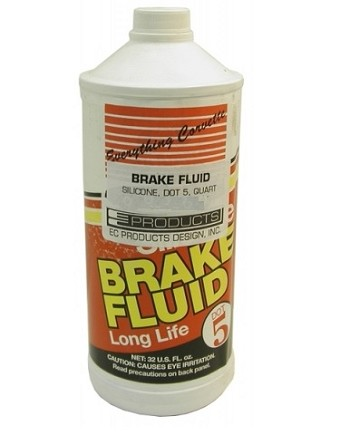Silicone Brake Fluid - 1 Quart