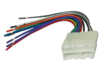 C4 C5 Corvette 1990-2004 Radio Wiring Harness & Connector | Corvette  Corvette Wiring Harness Complete on corvette horn wiring, corvette grille, corvette fuel pump wiring, corvette alternator wiring, corvette accessories, corvette starter wiring,