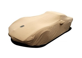 C3 Corvette 1968-1982 Premium Flannel Car Cover - Tan