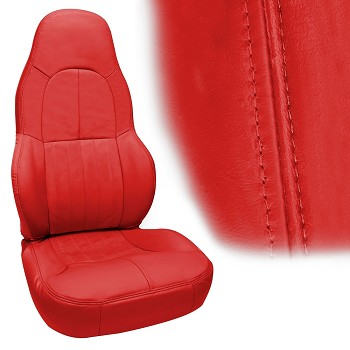 C5 Corvette 1997-2004 OE-Style Leather Seat Covers - Standard Seat
