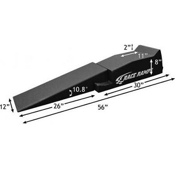 C3 C4 C5 C6 C7 Corvette 1968-2014+ 56 Inch Two Piece Design Race Ramps - Set Of 2