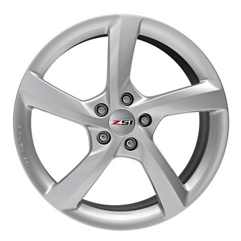 C7 Corvette Stingray 2014-2019 GM 5 Spoke Silver Wheels - 19/20