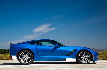 C7 Corvette Stingray 2014-2019 Lamin-X Pre-Cut Clear Bra Paint Protection System - Optional Mirror Protection Film