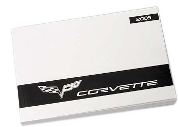 C6 Corvette 2005-2011 Owners Manuals - Year Specific