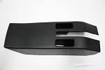 C3 Corvette 1968 Parking Brake Console for Cars without Power Windows - Black