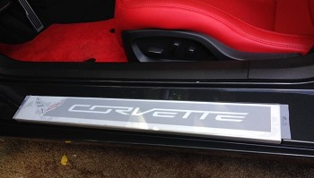 C7 Corvette 2014+ Stingray/Z06/Grand Sport Xpel Doorsill Guard Protectors