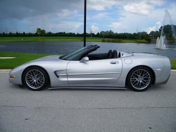 C5 Corvette 1997-2004 GT2 Side Skirts