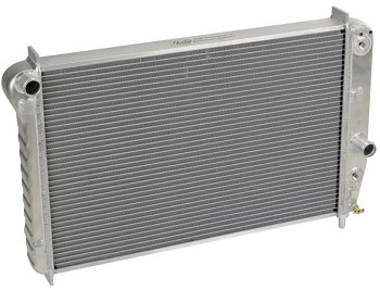 C5 Corvette 1997-2004 DeWitts HP Direct Fit Dual Row Aluminum Radiator w/ Shortened Core for Blower