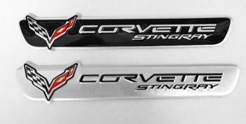 C7 Corvette Stingray 2014+ Small Multi-use Emblem