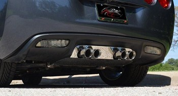 C6 Corvette 2005-2013 Exhaust Filler Panels - All Exhaust Types